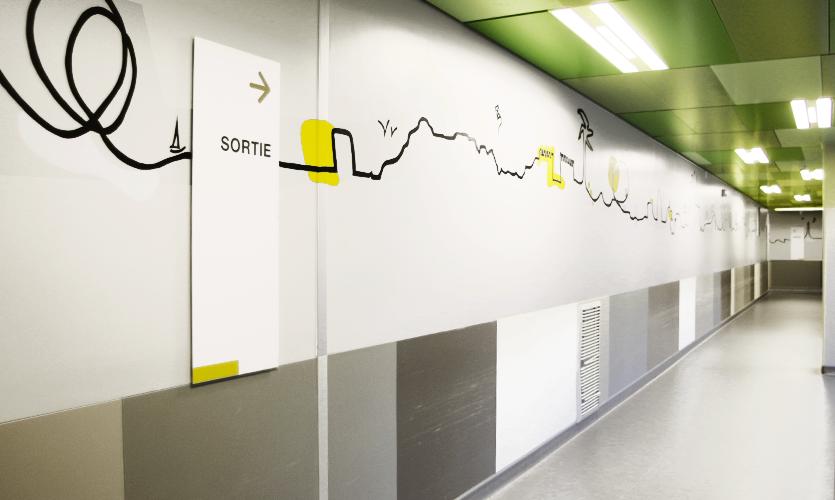 Célèbre Hopital Necker | Atelier c'est signe - Design graphique - identité  YK38